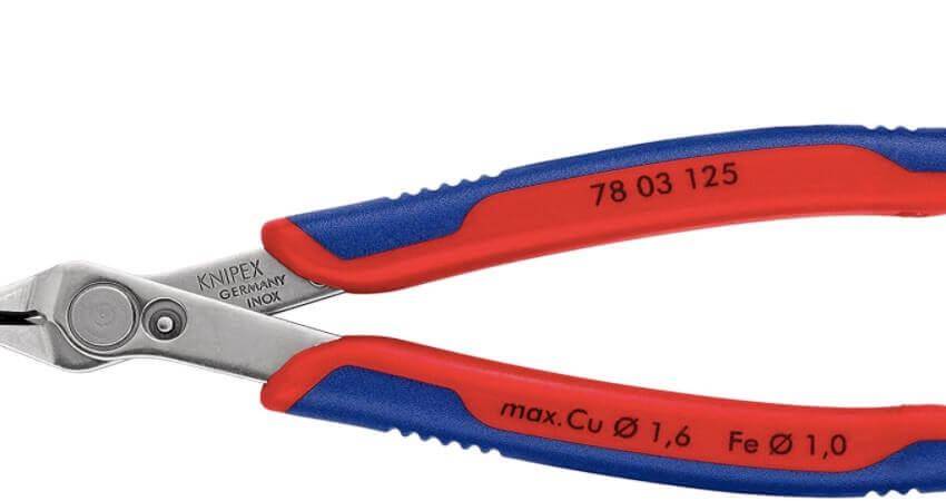 KNIPEX 78 03 125 Electronic Super Knips(R) mit Mehrkomponenten-Hüllen 125 mm