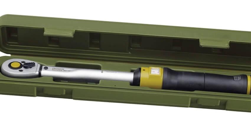 """Proxxon 23350 Drehmomentschlüssel (Ratsche, Umschaltknarre), 3/8"""" Vierkantantrieb, für 12-60 Nm - Gesamtlänge: 370 mm"""