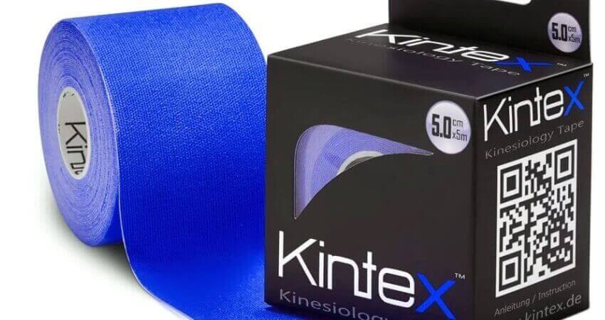 Kintex Kinesiologie Tape Classic 5cm x5m, Physio-Tape, Therapie-Tape, elastisch, wasserfest