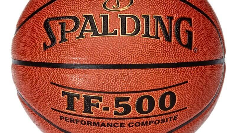 Spalding TF500 DBB Indoor sz.7, (74-591Z) schwarz